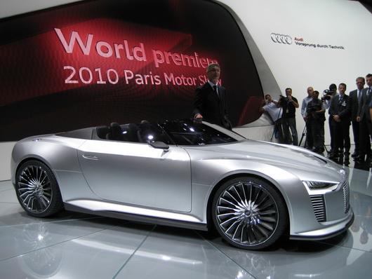 фото нового автомобиля, Парижский автосалон 2010, концепткар