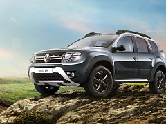 Новый Renault Duster Adventure - вместо Dakar