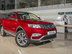 Старт продаж Geely Atlas 1.8 Turbo и подорожавшие Emgrand'ы