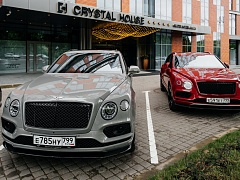 Тест-драйв Bentley Bentayga V8: дизель против бензина