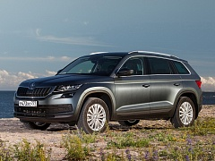 Новая топ-комплектация для SKODA Kodiaq - BusinessLine